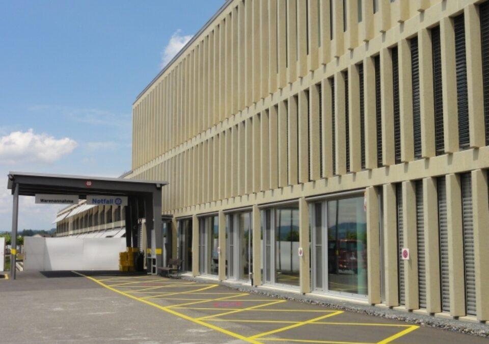 Spital Männedorf: Neubau Behandlungstrakt, Radiotherapie, Parkhaus, Notfall