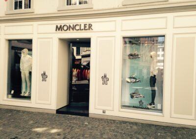Laden-Umbau Moncler, Storchengasse Zürich