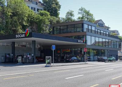Stäfa, Seestrasse 3 – MFH + Tankstelle