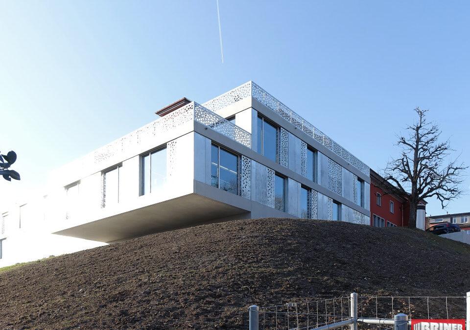 Wädenswil, Fuhrstrasse 42 – Wohnzentrum «Fuhr» (Stützmauer + Anbau)